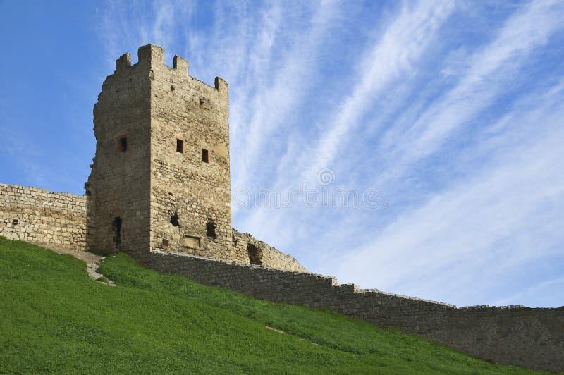 medeltida torn fotografering för bildbyråer