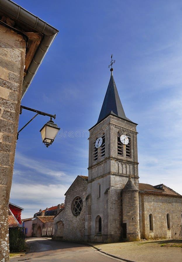 medeltida town royaltyfri fotografi