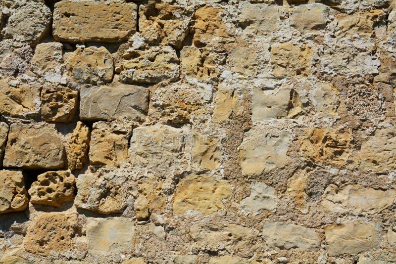 medeltida vägg för bakgrund arkivfoto