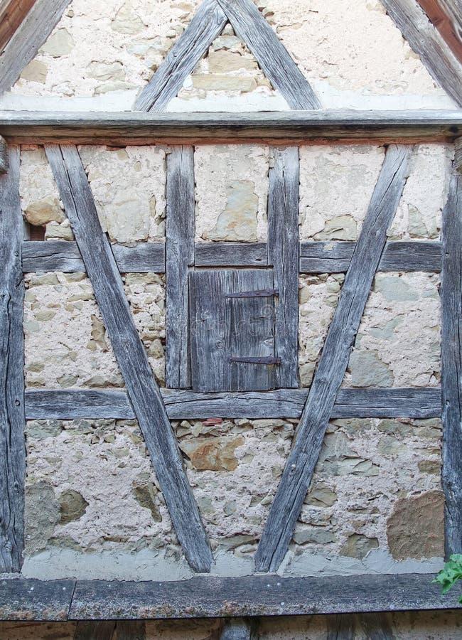 medeltida v?gg f?r bakgrund fotografering för bildbyråer