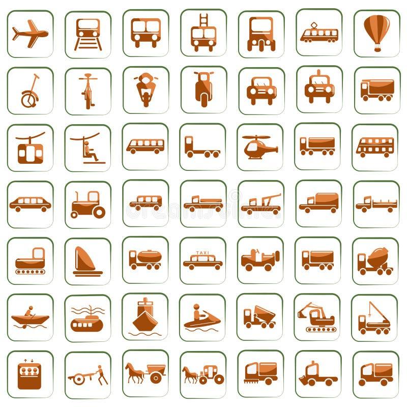 medeltransport stock illustrationer