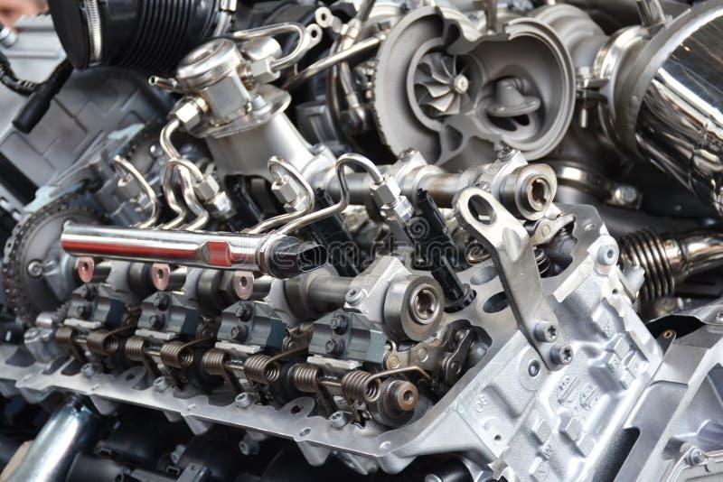 MedelV8 motor royaltyfri foto