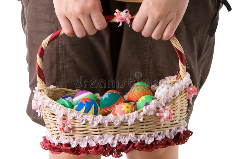 medf8ora easter ägg arkivfoto