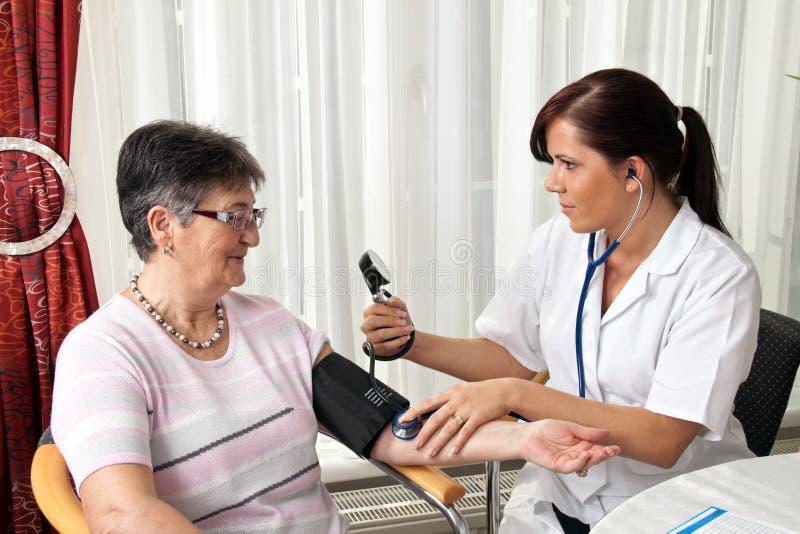 Medição do doutor imagens de stock