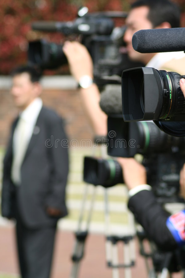 Download Media stock photo. Image of celebrity, report, attention - 2280704