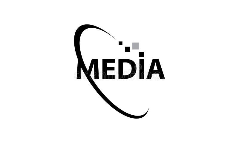 media ilustração stock