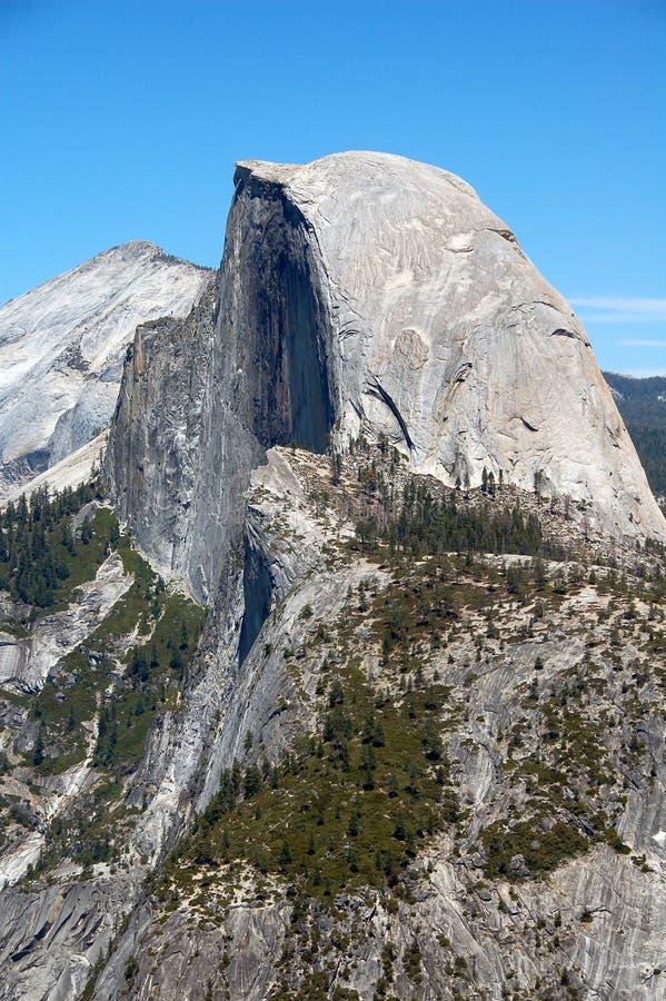 Media bóveda Yosemite imagen de archivo libre de regalías