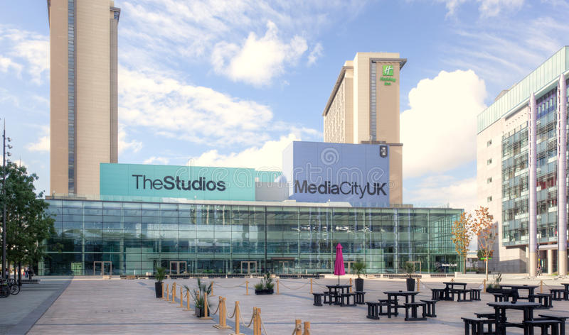 Download Media City  Manchester editorial photography. Image of city - 26665442