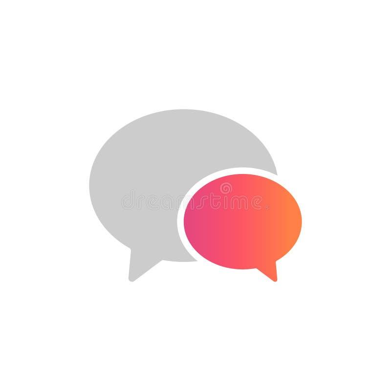 Media del sociale dell'interfaccia Icone interattive Rete sociale popolare per datare royalty illustrazione gratis