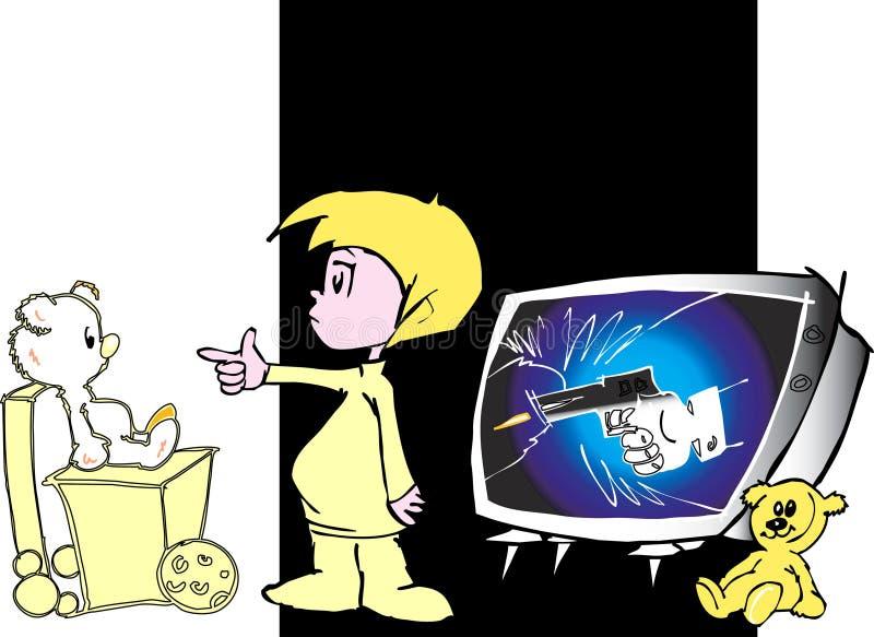 media edukacji dziecka royalty ilustracja