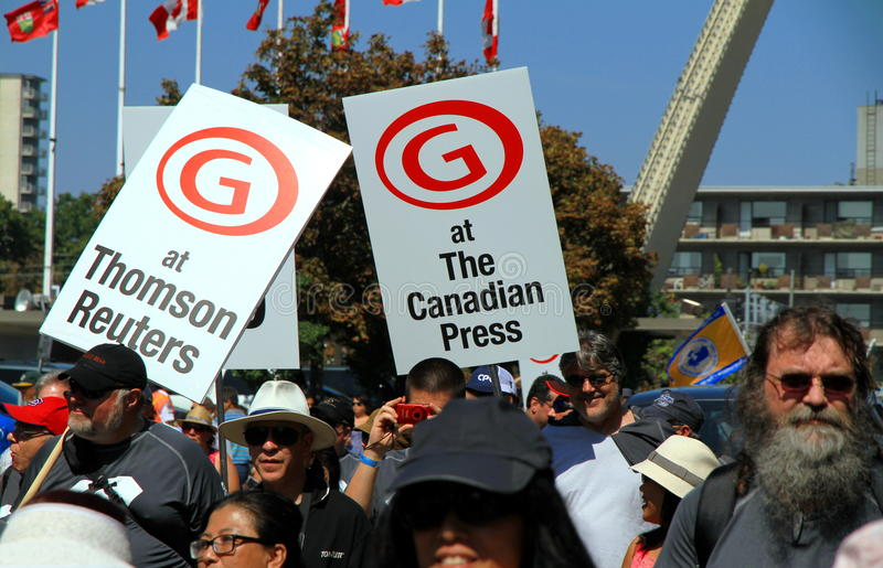 Download Media Employees editorial stock image. Image of canadian - 26843949