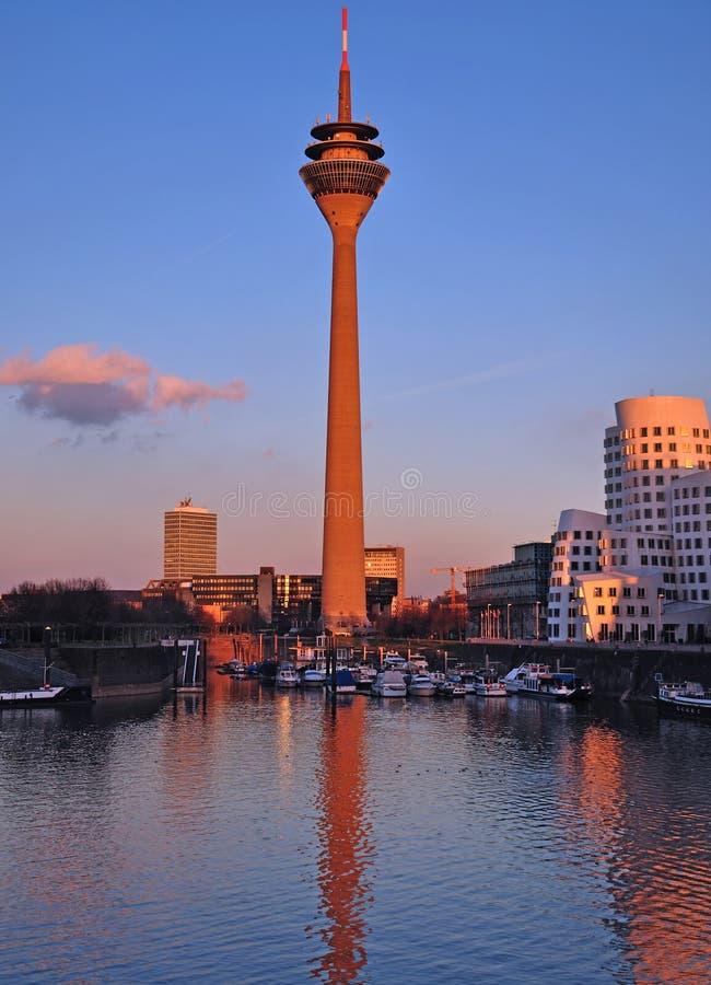 Free Media Harbour,Duesseldorf Stock Images - 22523054