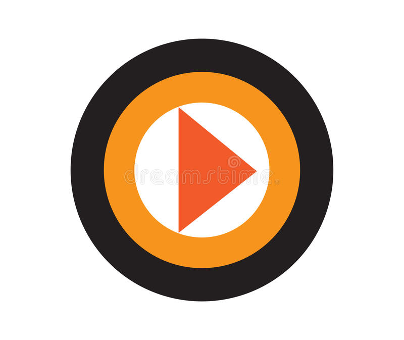 Download Media Icon Concept Design stock vector. Image of interface - 83704884
