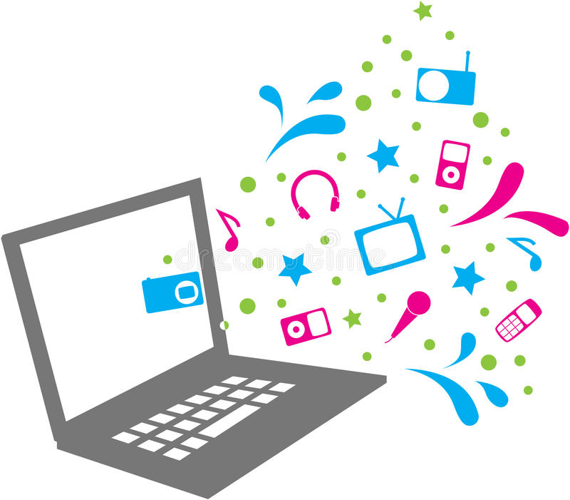 Download Media icons stock vector. Illustration of star, multimedia - 16959771