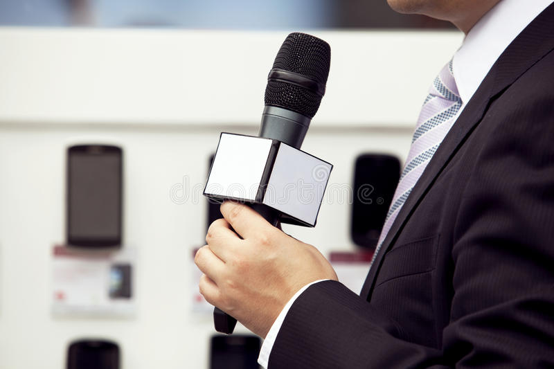 Download Media interview stock photo. Image of media, businessman - 28907198