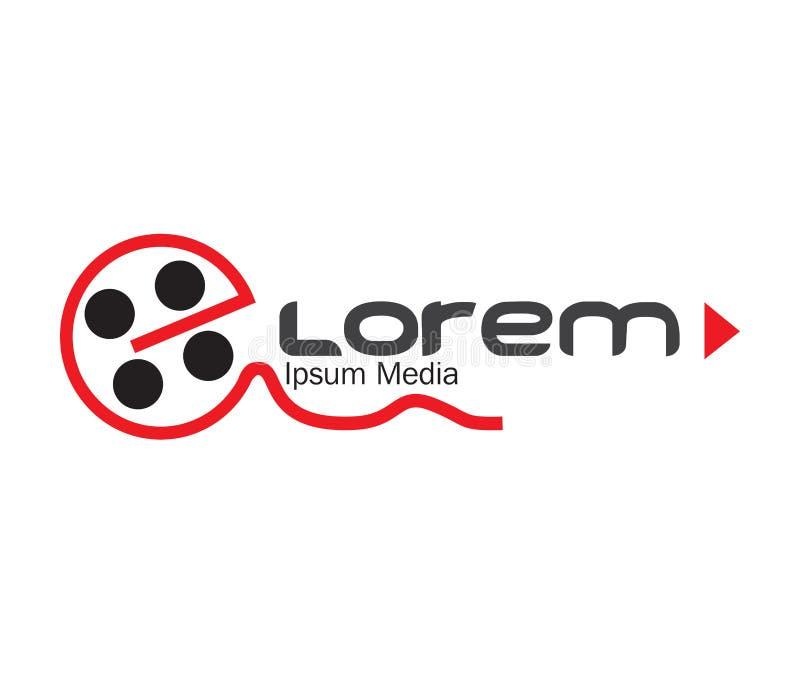 Download Media Logo Concept Design stock vector. Image of modern - 83705296