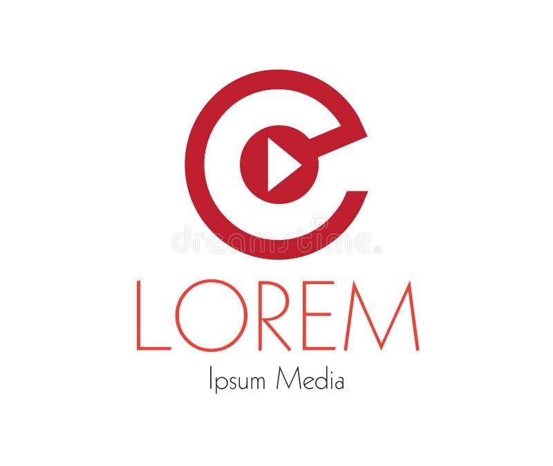 Download Media Logo Concept Design Stock Illustration - Image: 83705830