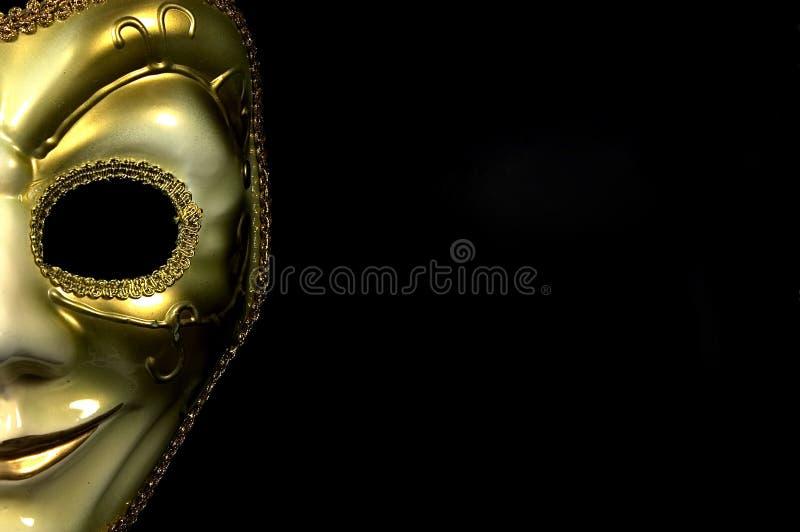 Media máscara fotos de archivo libres de regalías