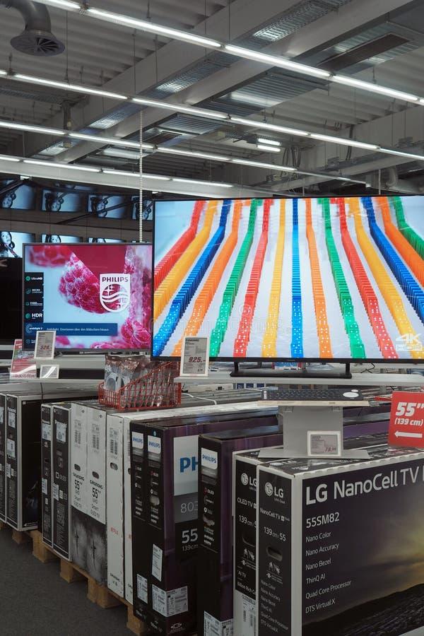 Media Markt in Offenburg, Baden-Württemberg, Germania fotografia stock libera da diritti