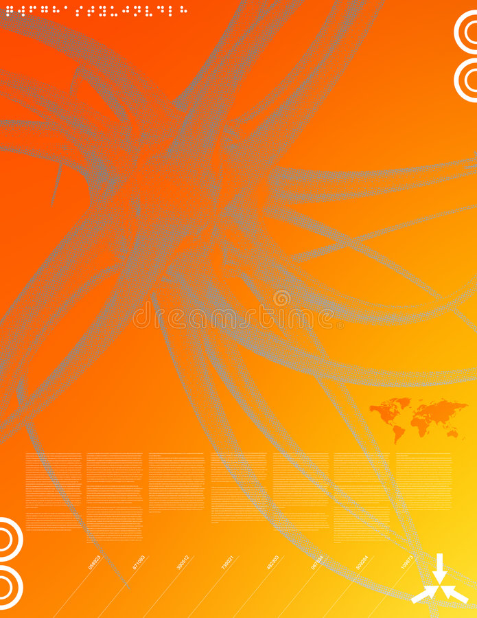 Media novos 02 ilustração do vetor