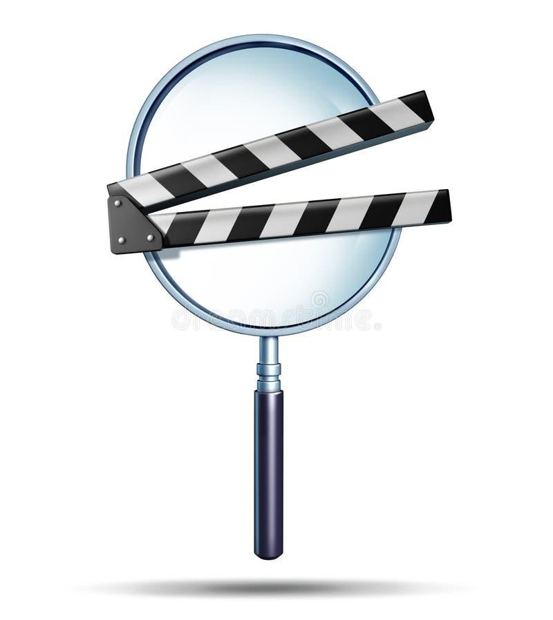 Media Onderzoek royalty-vrije illustratie