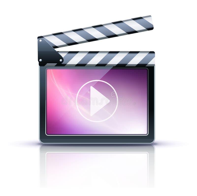 Media Player Icon Stock Image