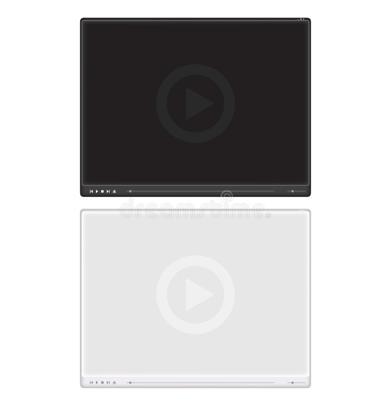 Download Media Player Interface Royalty Free Stock Photography - Image: 27451247