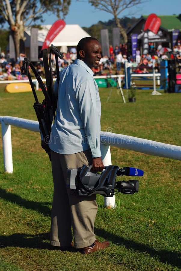 Media SABC NEWS royalty free stock image