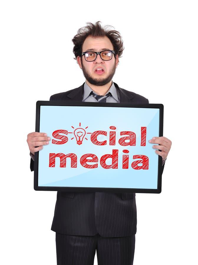 Media social photo stock