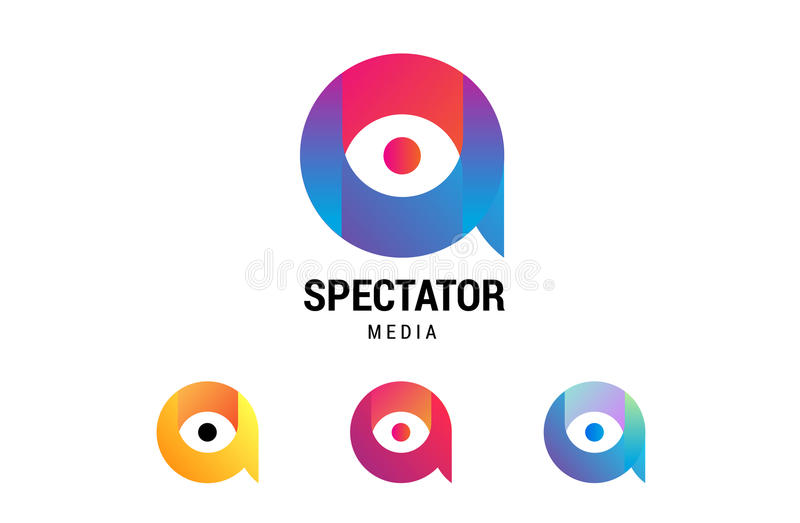 Media spectaculaire illustration stock