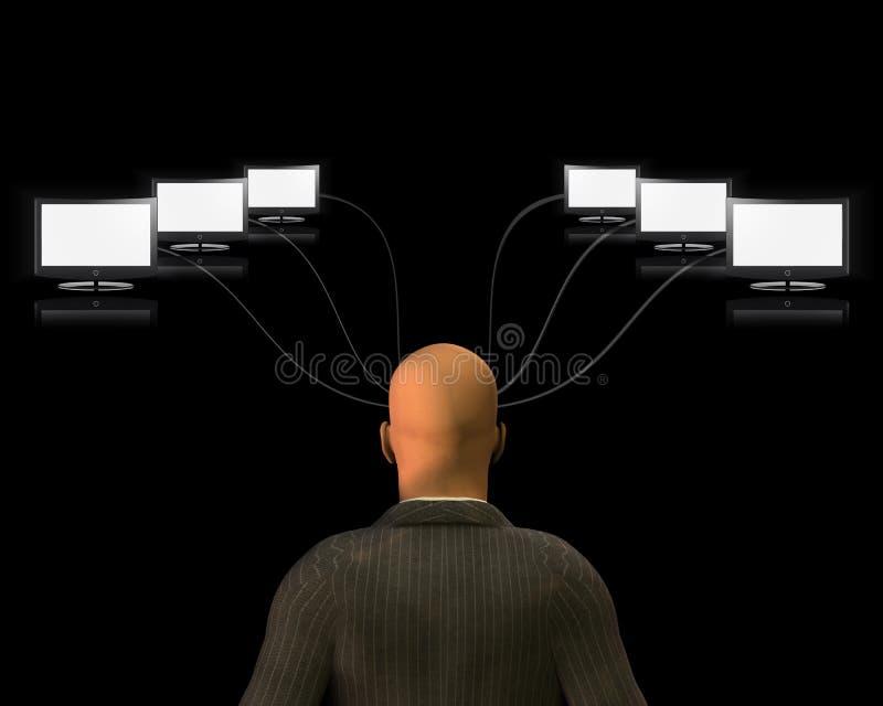 Media-Verstand vektor abbildung