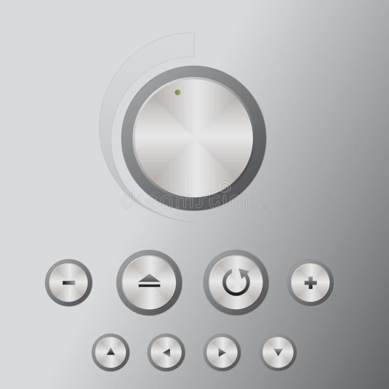 Mediacentre delle icone (supplementare) illustrazione di stock