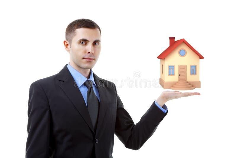 Mediador imobiliário fotografia de stock royalty free