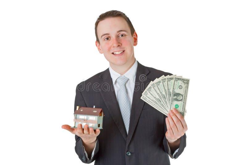 Mediador imobiliário imagens de stock royalty free