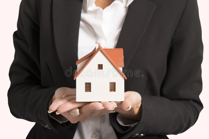 Mediador imobiliário fotos de stock