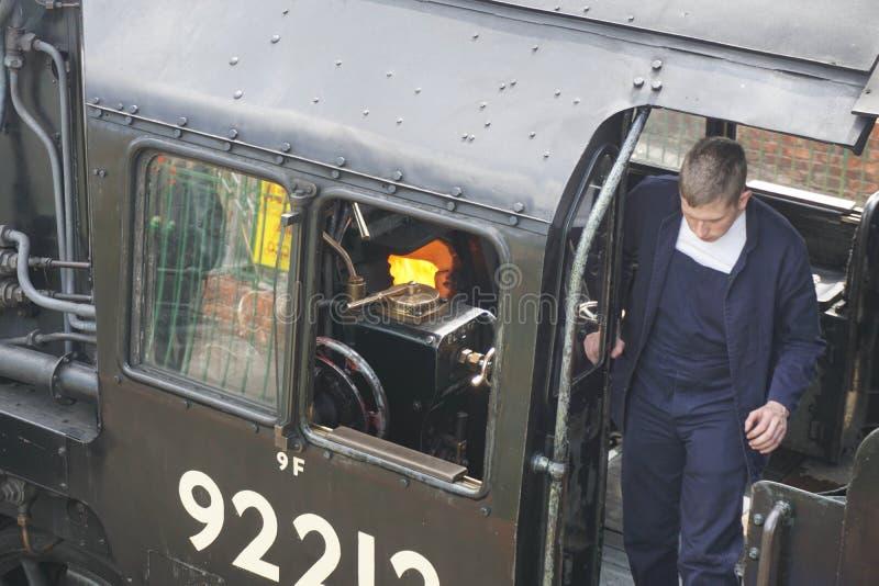 Mediados de ferrocarril del vapor de Hants imagen de archivo libre de regalías