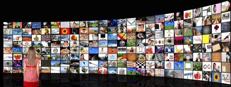 Mediaraum lizenzfreie stockfotografie