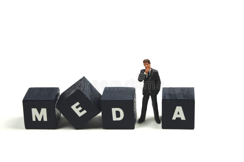 Download Medias image stock. Image du transmission, fond, publiciste - 8665873