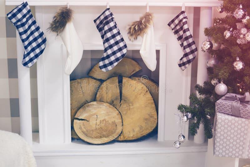 Medias de la Navidad imagenes de archivo