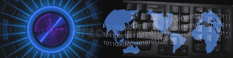 Medias et technologie illustration stock