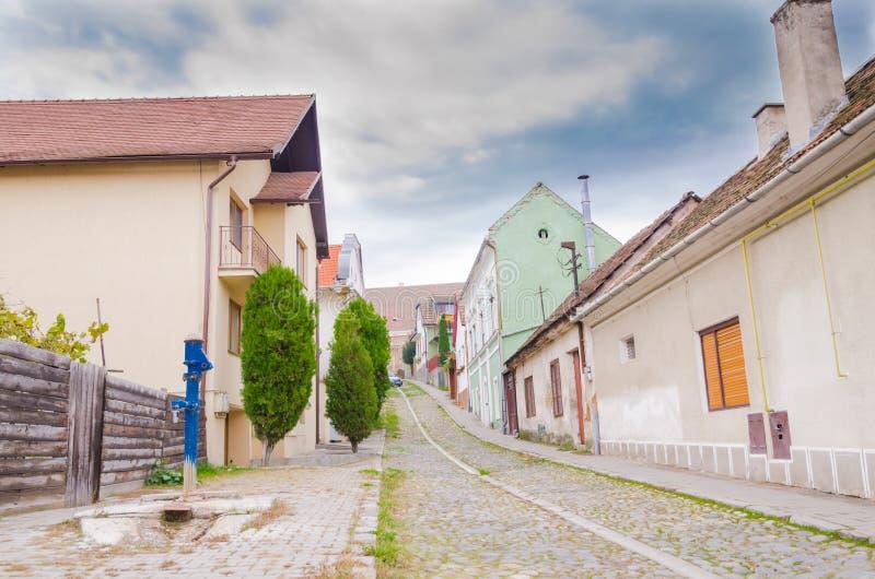 Medias, Roumanie photo stock