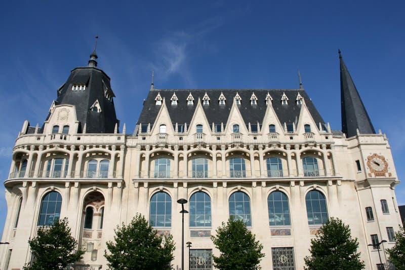 Mediatheque em Chartres fotografia de stock