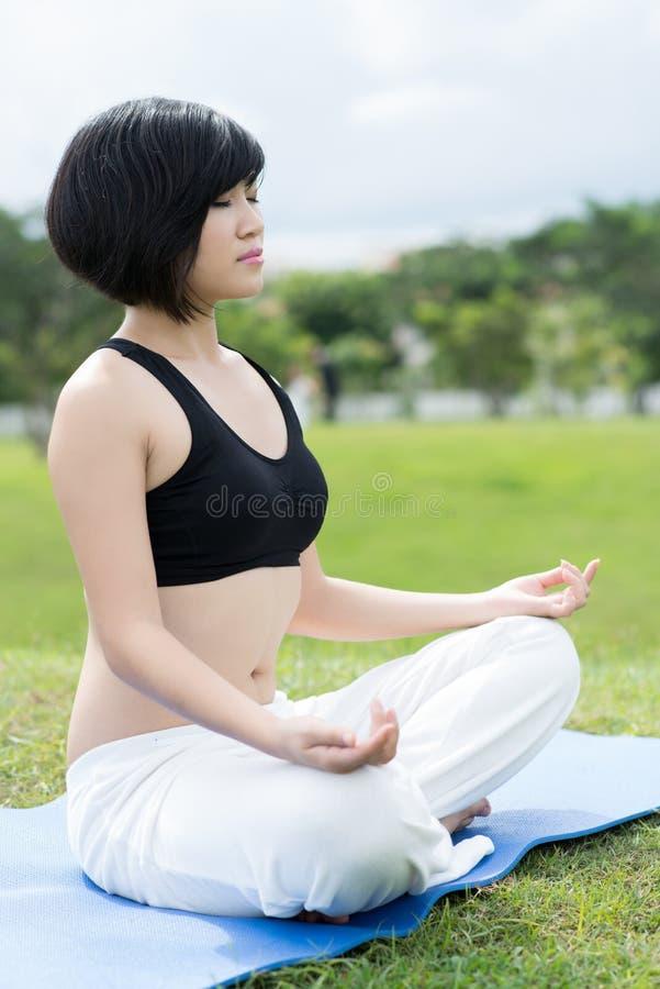 Download Mediating girl stock photo. Image of alternative, human - 27134896