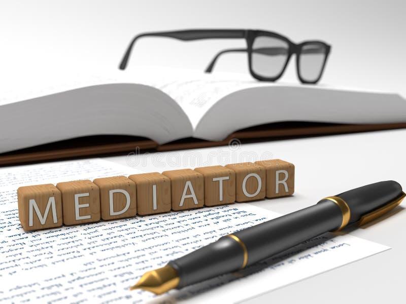 mediator ilustração do vetor