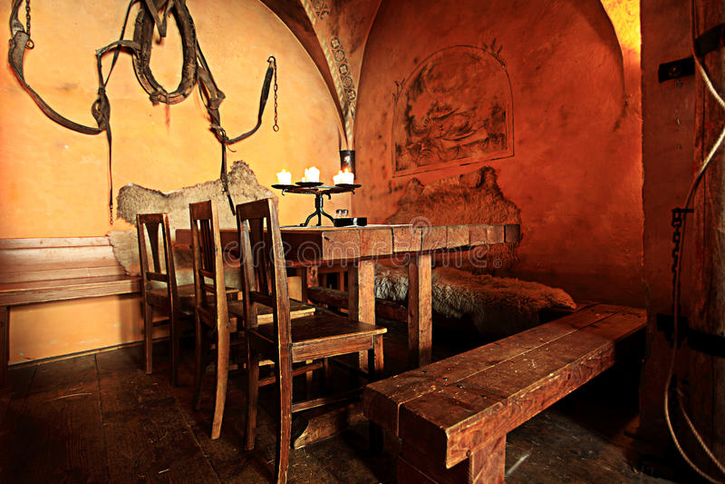mediaval μπαρ στοκ φωτογραφίες