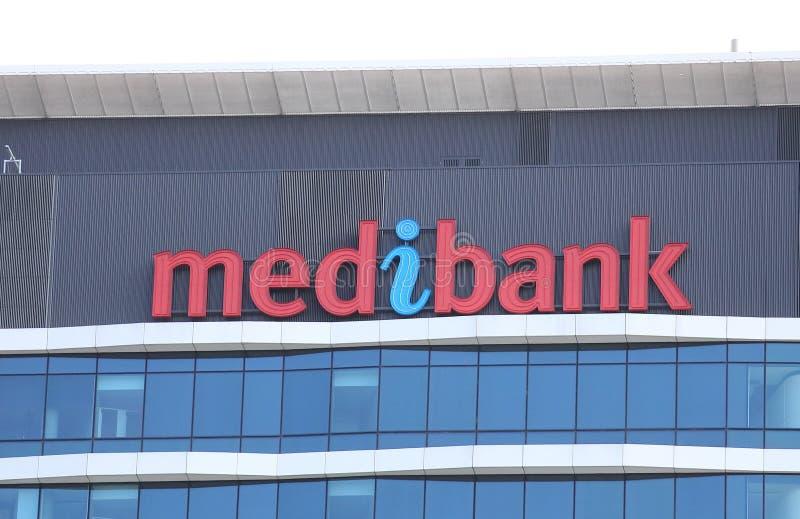 Medibank Австралия стоковые фотографии rf