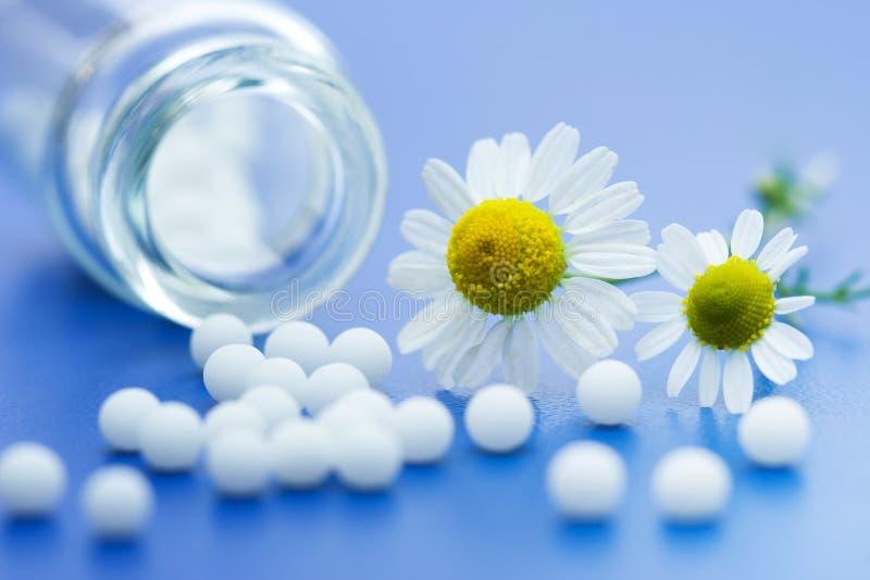 Medicación homeopática fotos de archivo libres de regalías
