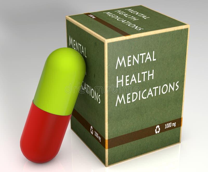 Medicaciones de la salud mental libre illustration