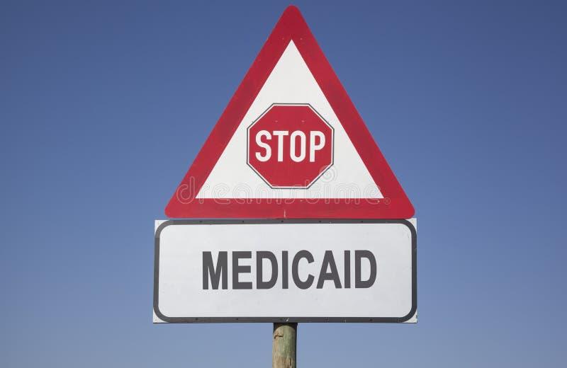 Medicaid-het waarschuwen stock fotografie