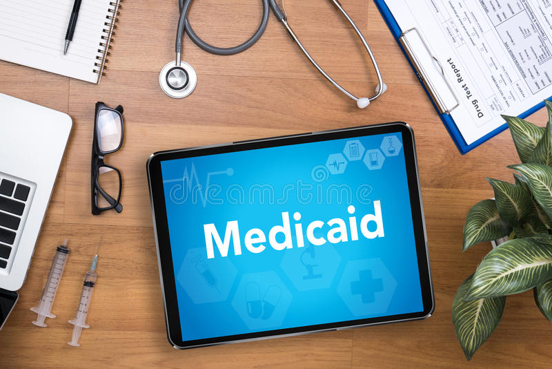 Medicaid stock photography